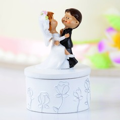 Dancing Couple Resin Wedding Cake Topper