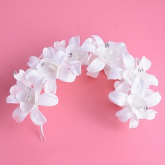 Flower Shaped Cloth Headbands