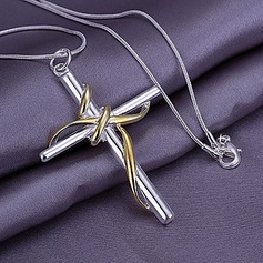 Cross Alloy Fashion Necklace