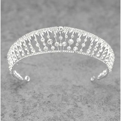 Ladies Classic Alloy/Platinum Plated Tiaras