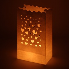 Nice Heart Design Paper Luminary