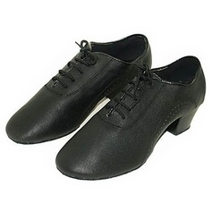 Men's Real Leather Pumps Latin Ballroom Dance Shoes
