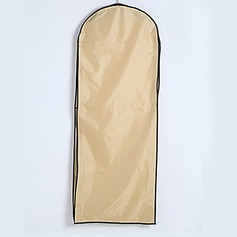 Elegant Two Layers Waterproof Cotton / Tulle Gown Length Garment Bag (035024130)
