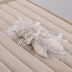 Fashion Crystal/Alloy/Imitation Pearls Combs & Barrettes