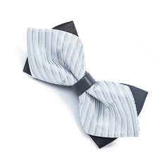 Stripe Satin Bow Tie