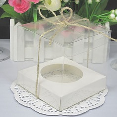 Transparent Cupcake Boxes (Set of 12) (050024706)