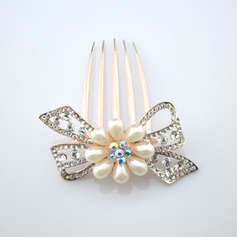 Handmade Alloy Combs & Barrettes