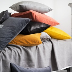 Casual Cotton Velvet Pillows & Throws (Sold in a single piece)