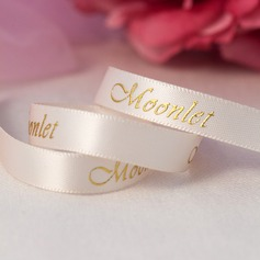 Personalized Gilding Letter Polyester Ribbon