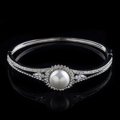 Charming Pearl/Zircon With Austrian Crystal Ladies' Bracelets