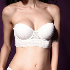 Lace/Cotton Push-up Bridal/Feminine Bra (041059240)