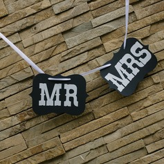 """MR & MRS"" Card Paper Wedding Banner"