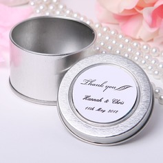 "Personalized ""Thank You"" Tins Favor Tin"
