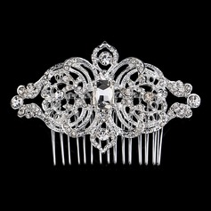 Fashion Rhinestone/Alloy Combs & Barrettes