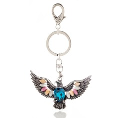 Glam Keychains With Rhinestone