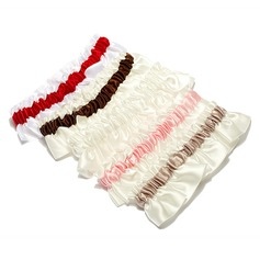 Pure Satin Wedding Garters