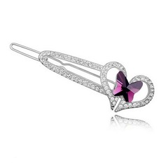 Nice Alloy With Crystal Women's Hair Jewelry