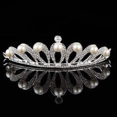 Elegant/Exquisite Alloy/Silver Plated Tiaras