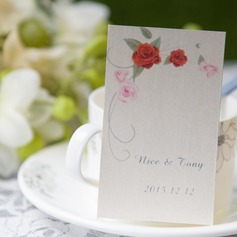 Personalized Lovely Rose Card Paper Tags