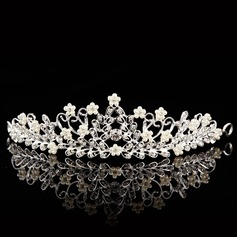 Beautiful/Glamourous Alloy/Silver Plated Tiaras