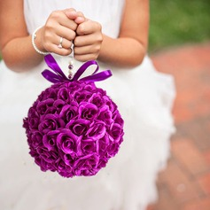 Rose Round Wedding Pomander