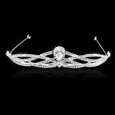 Ladies Classic Alloy/Zircon Tiaras With Rhinestone
