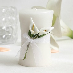Lovely Calla Lily Paraffin Wax Candle