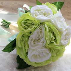 Eye-catching Round Satin Bridal Bouquets/Bridesmaid Bouquets
