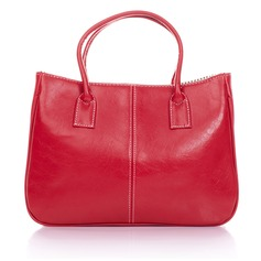 Fashional Faux Leather Top Handle Bags