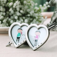 Personalized Heart-shaped Zinc Alloy Frames and Albums