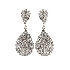 Gorgeous Alloy/Rhinestones Women's Earrings