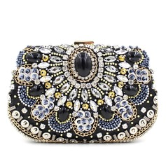 Charming Rhinestone Clutches (012073834)