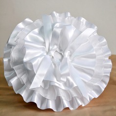 Pure Elegance Ring Pillow in Satin