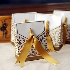 50th Anniversary Favor Boxes With Ribbons (Set of 12)