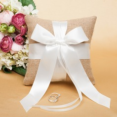 Grace Ring Pillow With Ribbons/Bow