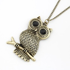 Cute Owl Alloy Women's Fashion Necklace
