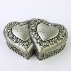 Personalized Heart Shaped Tins