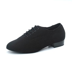 Men's Canvas Flats Modern Dance Shoes