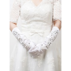 Elastic Satin Bridal Gloves