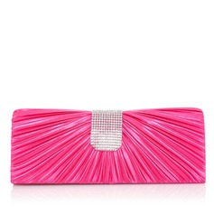 Fashional Silk With Rhinestone Clutches