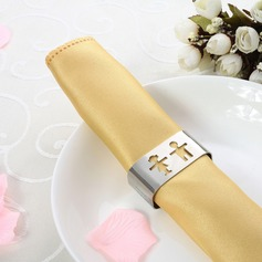 Personalized Lovely Girl&Boy Stainless Steel Napkin Ring