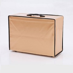 Elegant Faux Leather Garment Bag  (035024124)