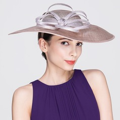 Ladies' Eye-catching Spring/Summer Cambric With Bowler/Cloche Hat
