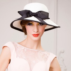 Ladies' Gorgeous Papyrus With Bowknot Straw Hat