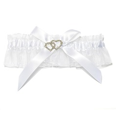 Elegant Organza With Rhinestone Wedding Garters