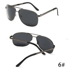 UV400/HD/Polarizado Chic Aviator Oculos de sol