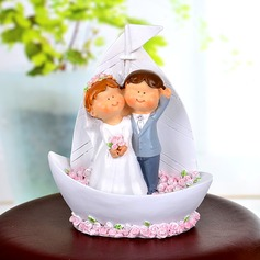 Looking Forward to the Future Resin Wedding Cake Topper