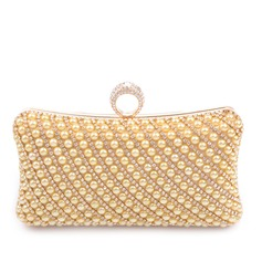 Charming PU With Imitation Pearl/Rhinestone Clutches