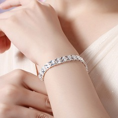 Classic Silver Plated Ladies' Bracelets