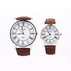Personalized Leatherette/Alloy Couples Watch (Set of 2)